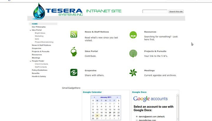 desarrollo de intranet