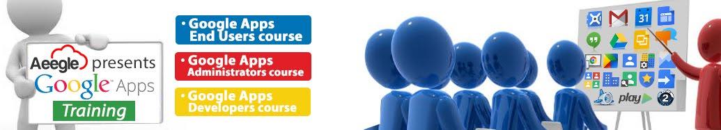 Formación Google Apps usuarios finales, administradores y desarrolladores