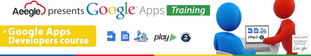 Aeegle Capacitación Google Apps Desarrolladores